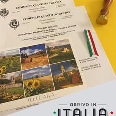 Estratto di Nascita e Matrimonio   Comune di Quinto di Treviso - Prov.Treviso