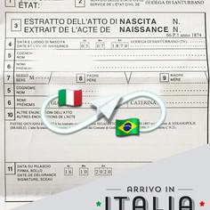 Estratto di Nascita | Comune di Godega di Santurbano - Prov.Treviso