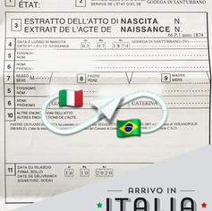 Estratto di Nascita   Comune di Godega di Santurbano - Prov.Treviso