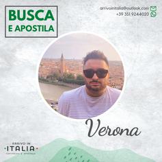 Estratto di Nascita | Comune di Verona