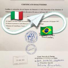 Certificato di Battesimo | Parrocchia Castelfranco Veneto - Prov. Treviso