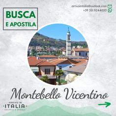 Estratto di Matrimonio | Montebello Vicentino