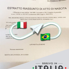 Estratto di Nascita | Comune di Motta di Livenza - Prov.Treviso
