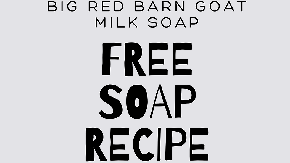 Freebie - Basic Soap Recipe