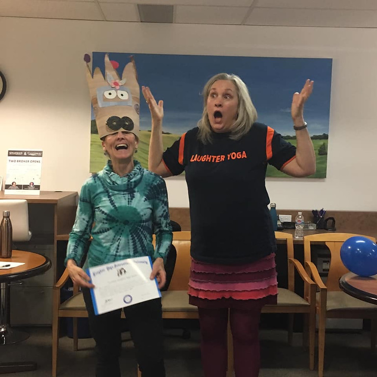Laughter Yoga Leader Certification to be announced