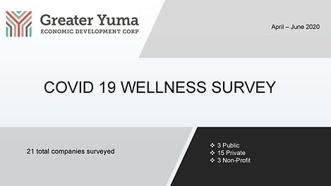 COVID 19 Wellness Survey Presentation_Pa