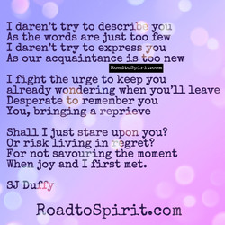 RoadtoSpirit.com Poetry - Joy
