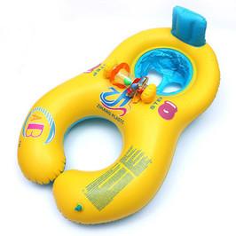 Yellow Baby & Mom Float