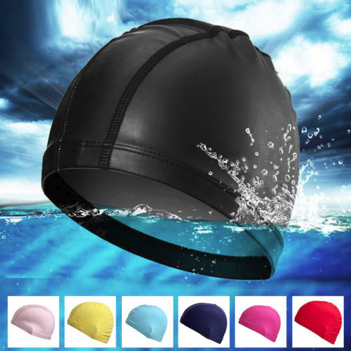 Waterproof Elastic Adult Lycra Soft Swim Cap