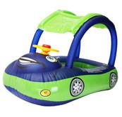 Dark Blue Baby Car Float