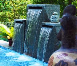 Aquarius Swimming Pool Water Feature