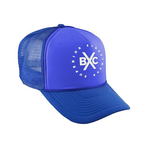 Superior Blue Trucker  Hat