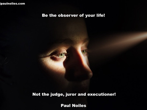 Be the Observer!