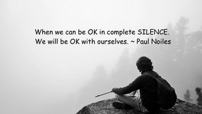 Silence is the foundation.