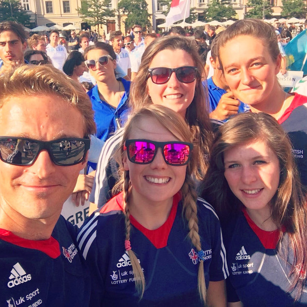 Team Morris - 2016 U23 World Championships