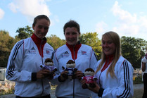 Our teddys instead of medals at the 2014 World Championships