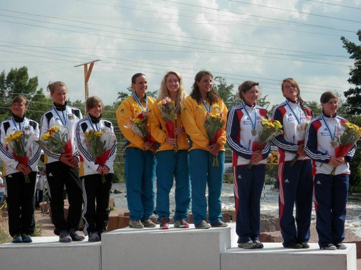 My first ever international medal! Bronze in the team event of the 2012 Junior world Championships