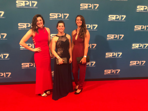 Sports Personality of the Year 2017 with the crew