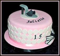Gâteau fashion addict