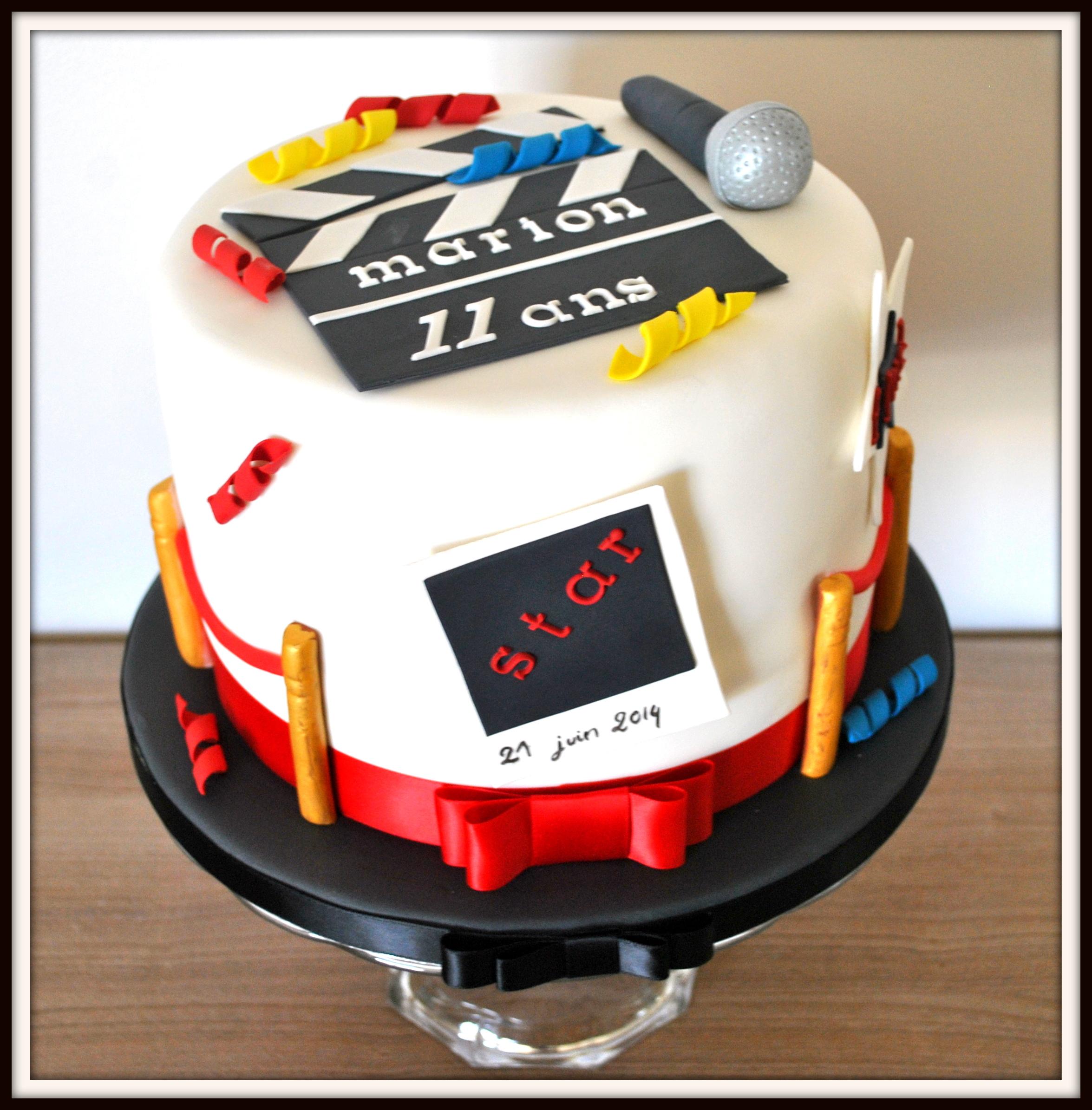 Gâteau 7eme art