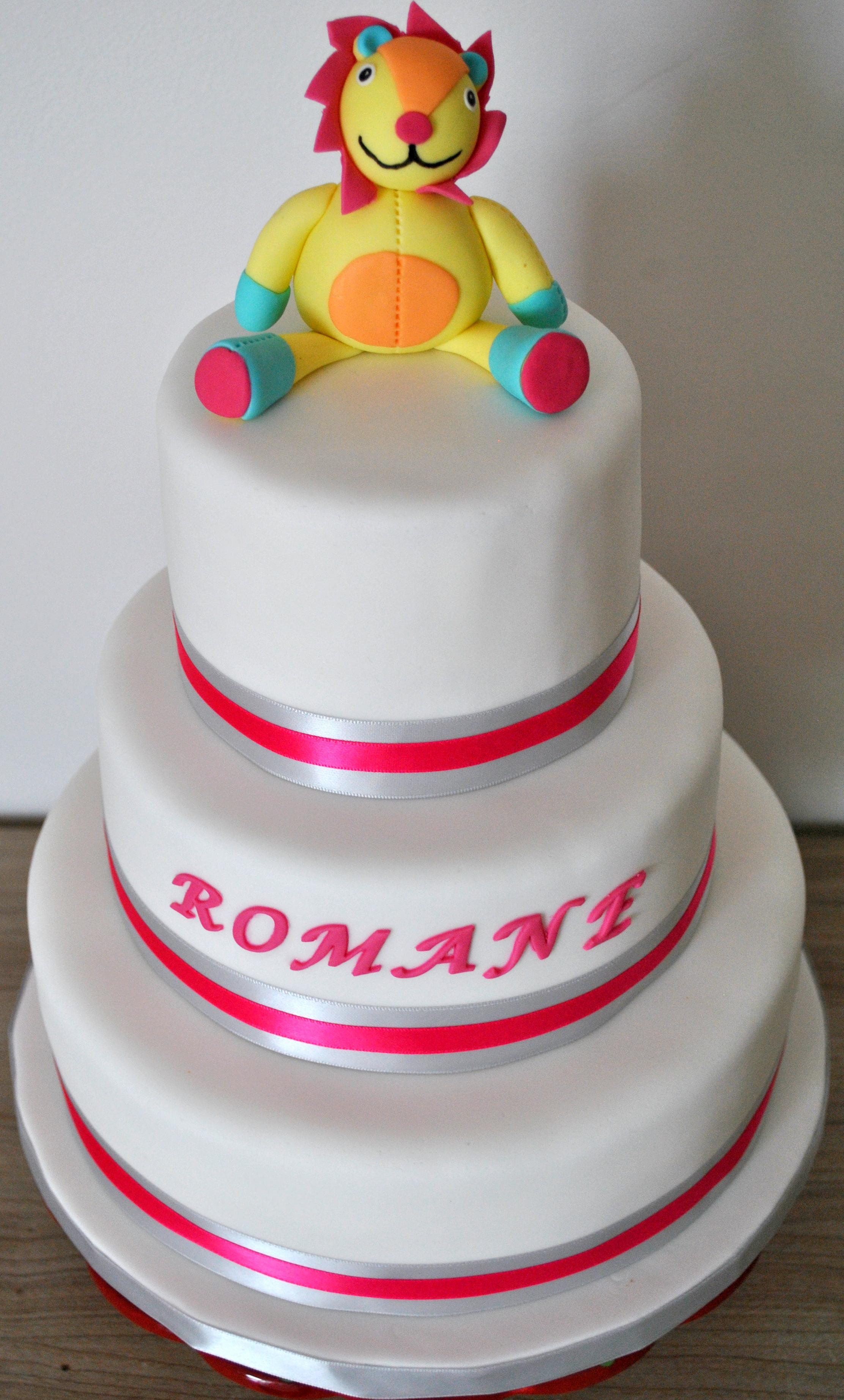 Gâteau lionceau