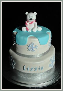 Gâteau ourson des neiges