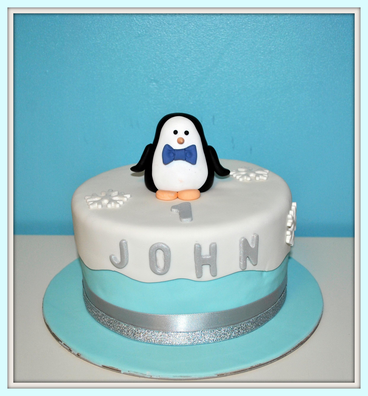 Gâteau Pingouin