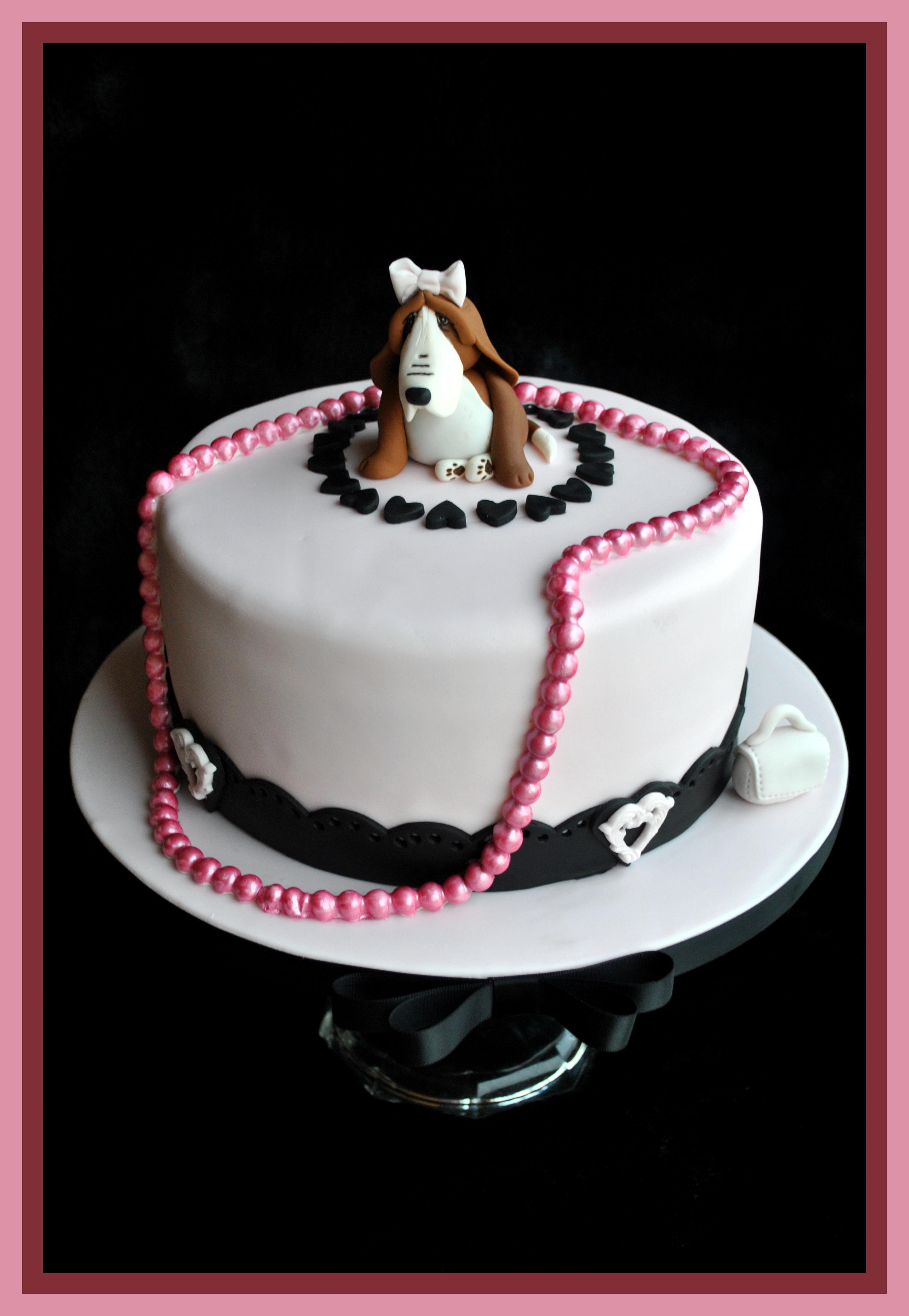 Gâteau perles baroques