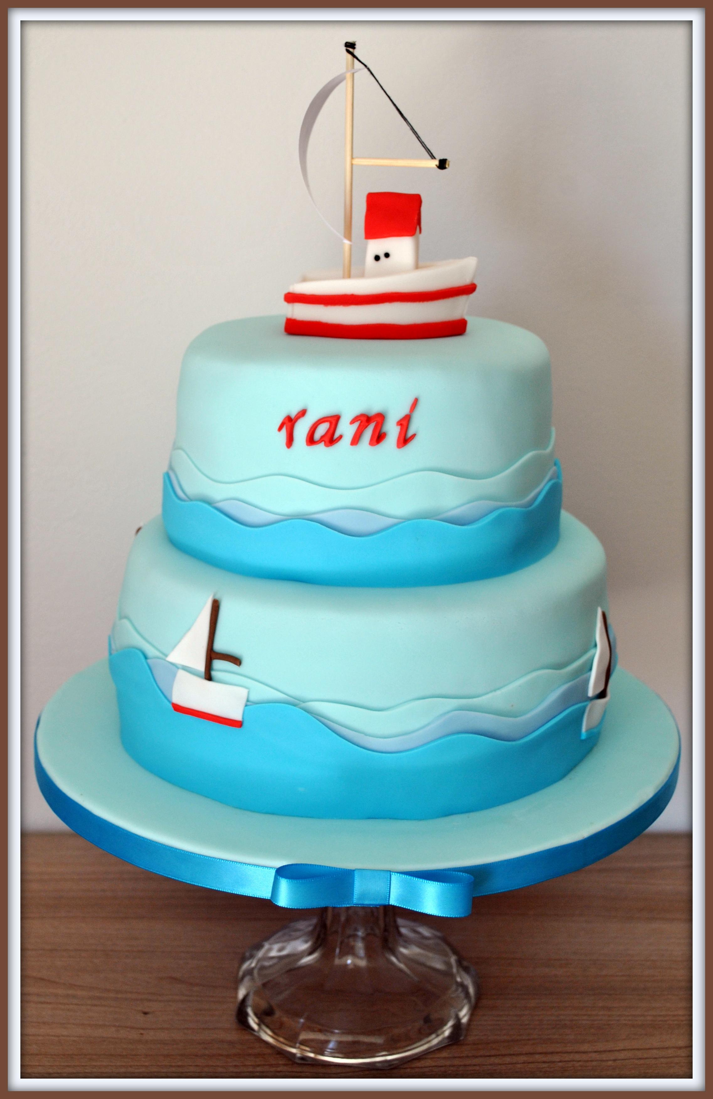 Gâteau bateau