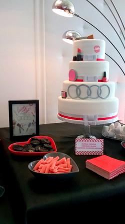 Gâteau Audi
