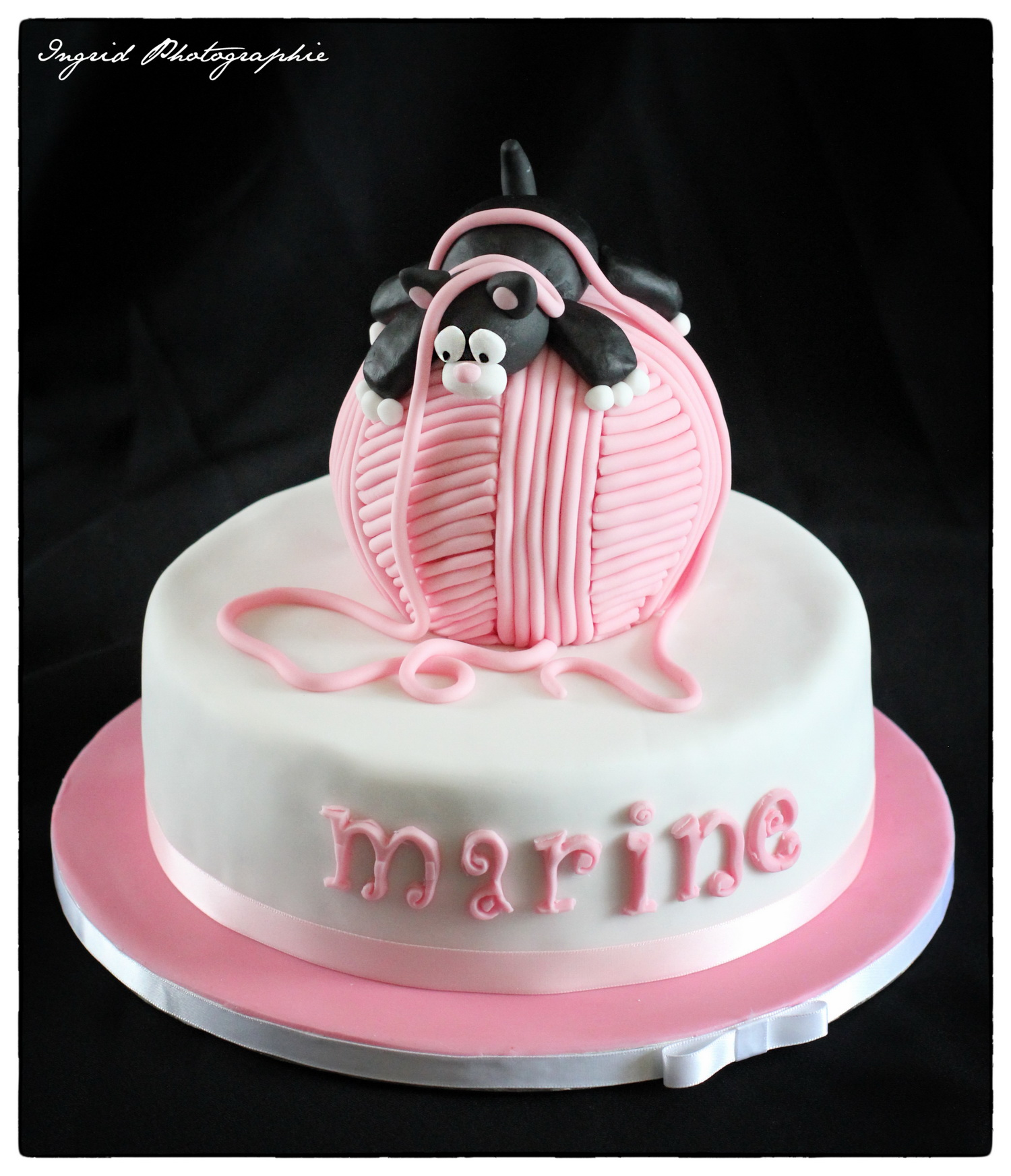 Gâteau chaton