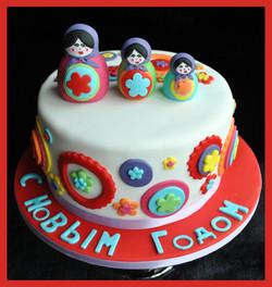 Gâteau Matriochka