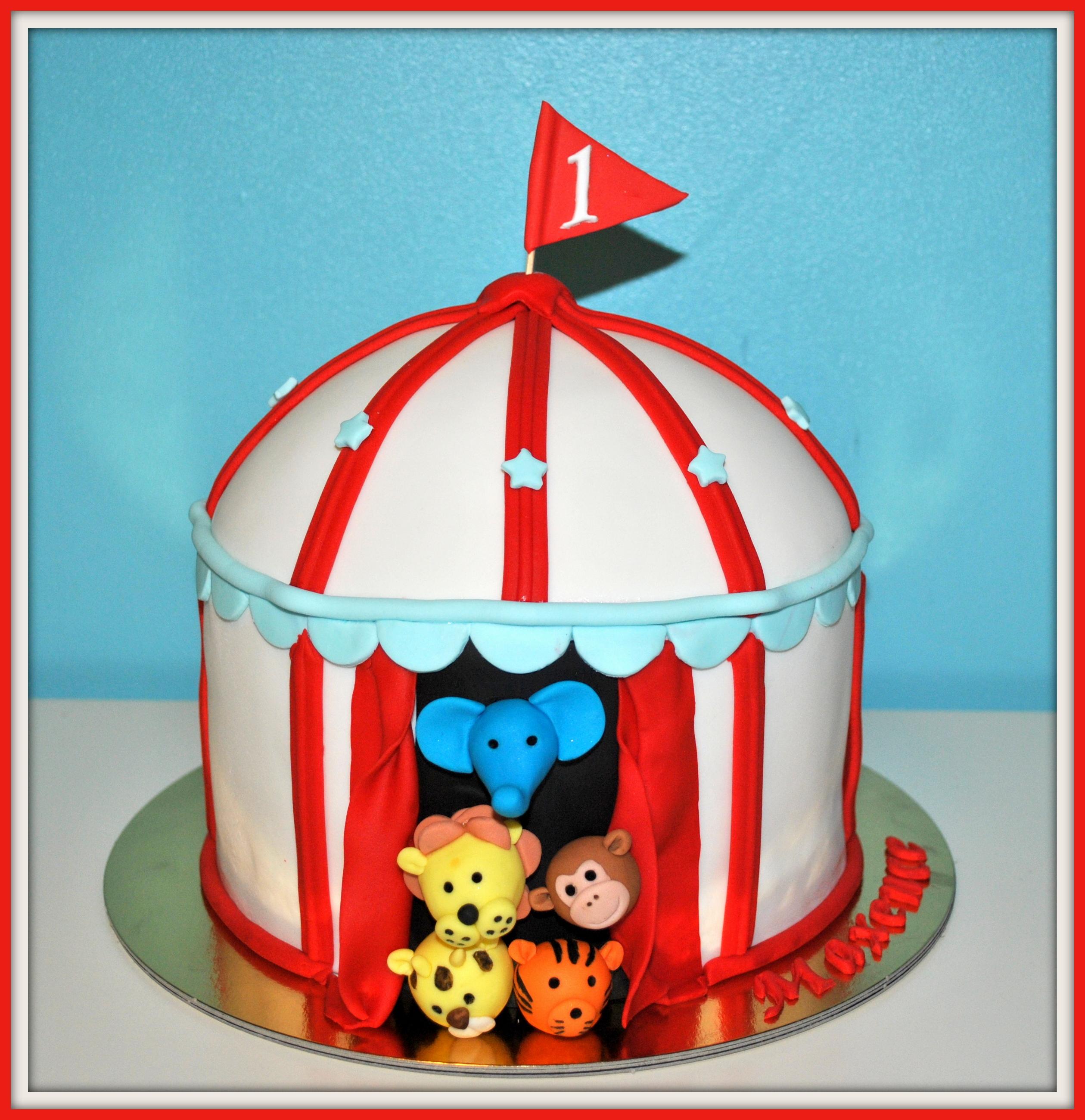 Gâteau circus