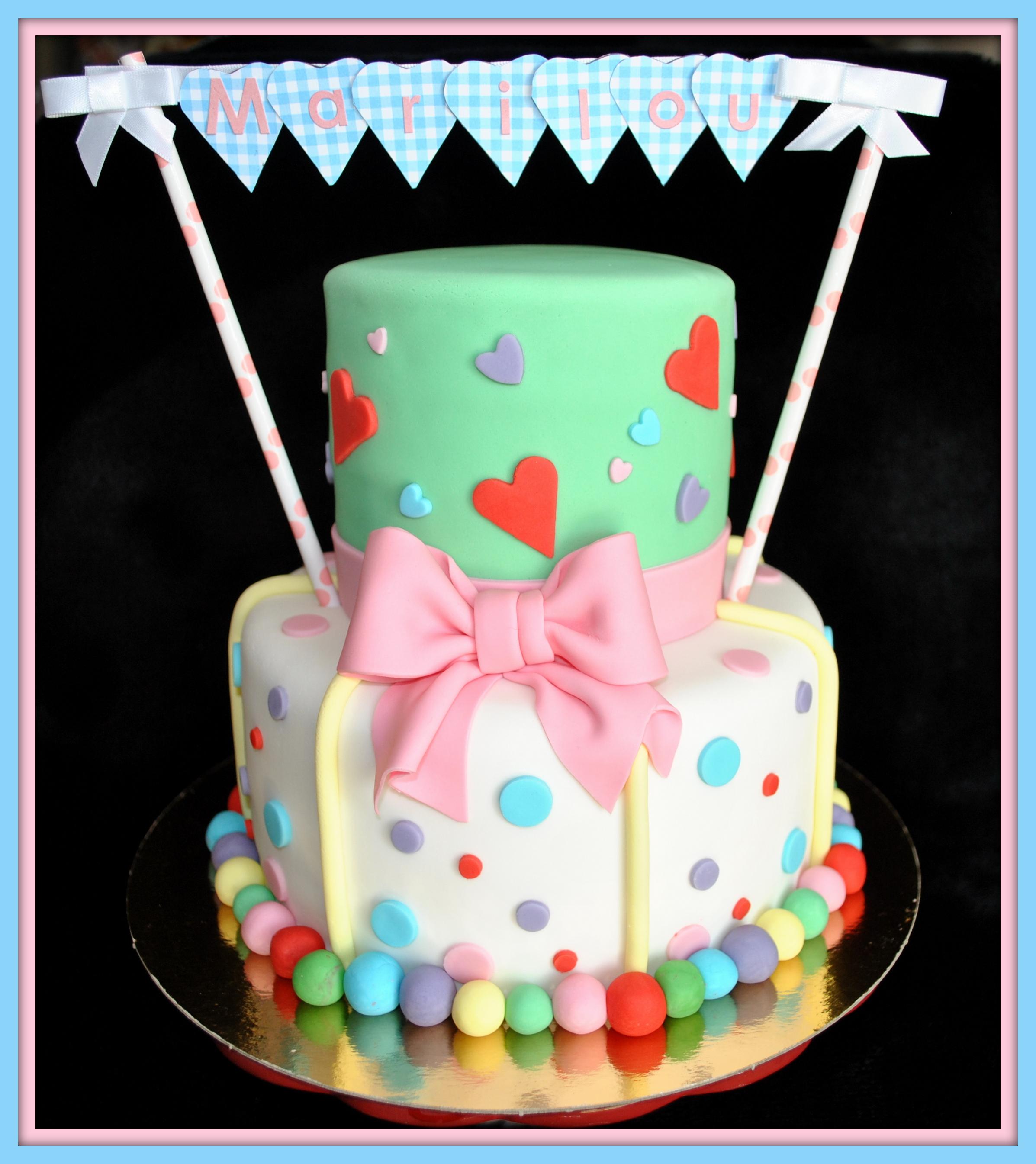Gâteau faites la fête