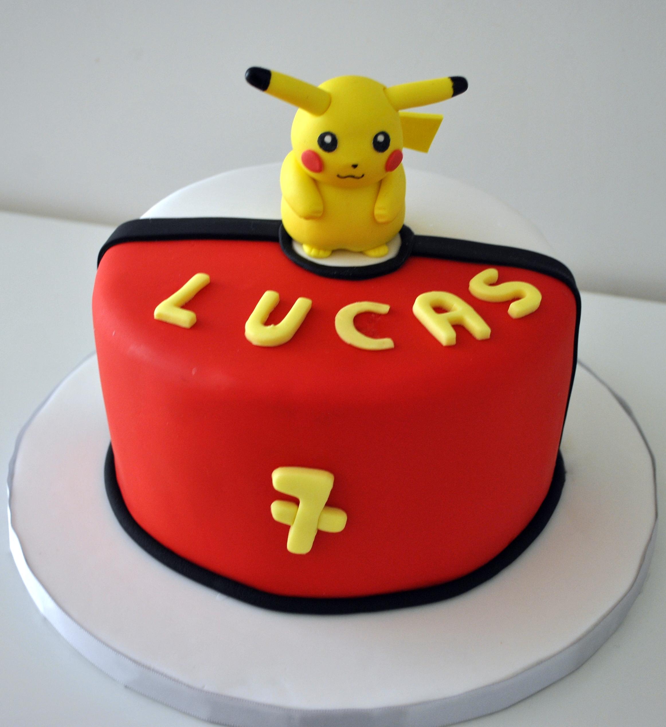Gâteau Pikachu