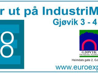 Vi stiller ut på Euro Expo i Gjøvik