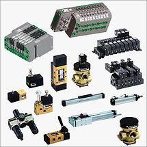 Sylindere, Ventiler, Manuelle ventiler, Luftbehandling, Fittings, m.m.