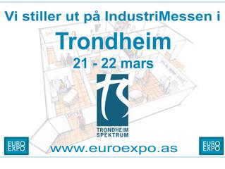 Besøk oss på Euro Expo i Trondheim