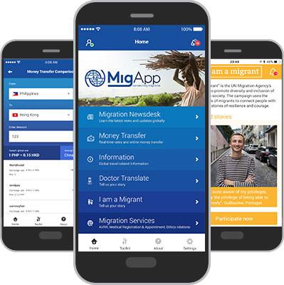 IOM Launches MigApp