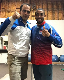 I had the pleasure to train with Mr _milad_yari67 yesterday.  It was great experience