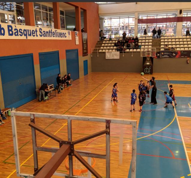Partit Trofeu CB Santfeliuenc