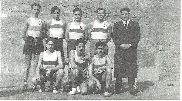 1946. Primer equip dirigit per Joan Mort