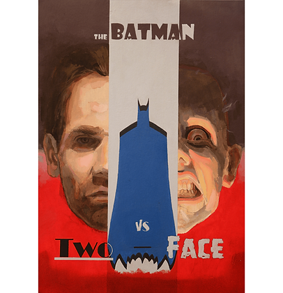 The Batman vs Two Face, 2019 - Danilo Ribeiro
