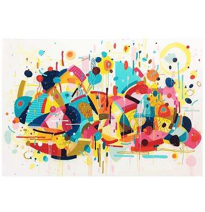 A gravata colorida, 2020 - Bruno Bogossian