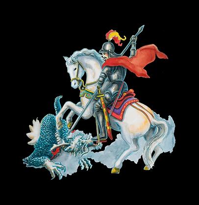 São Jorge e o dragão Tian-Long, 2020 - Vanessa Rosa