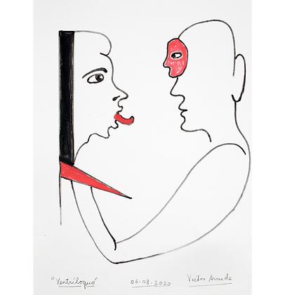 Ventríluquo, 2020 - Victor Arruda