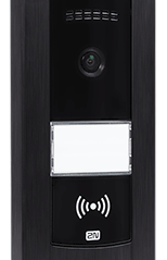 Low cost IP intercom Helios Base with HD camera and RFID reader