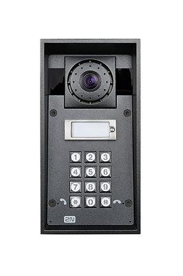 2N Helios Force – Camera , 1 x button , Keypad