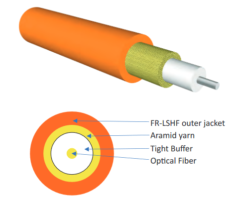 OPTOKON Simplex Cable Optical Fibers and Cables