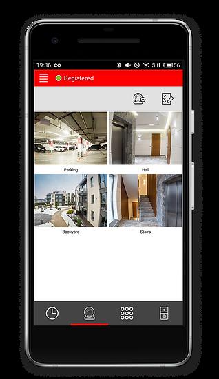 BAS IP Mobile application